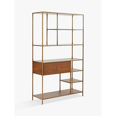 west elm Nook Wide Storage Bookshelf