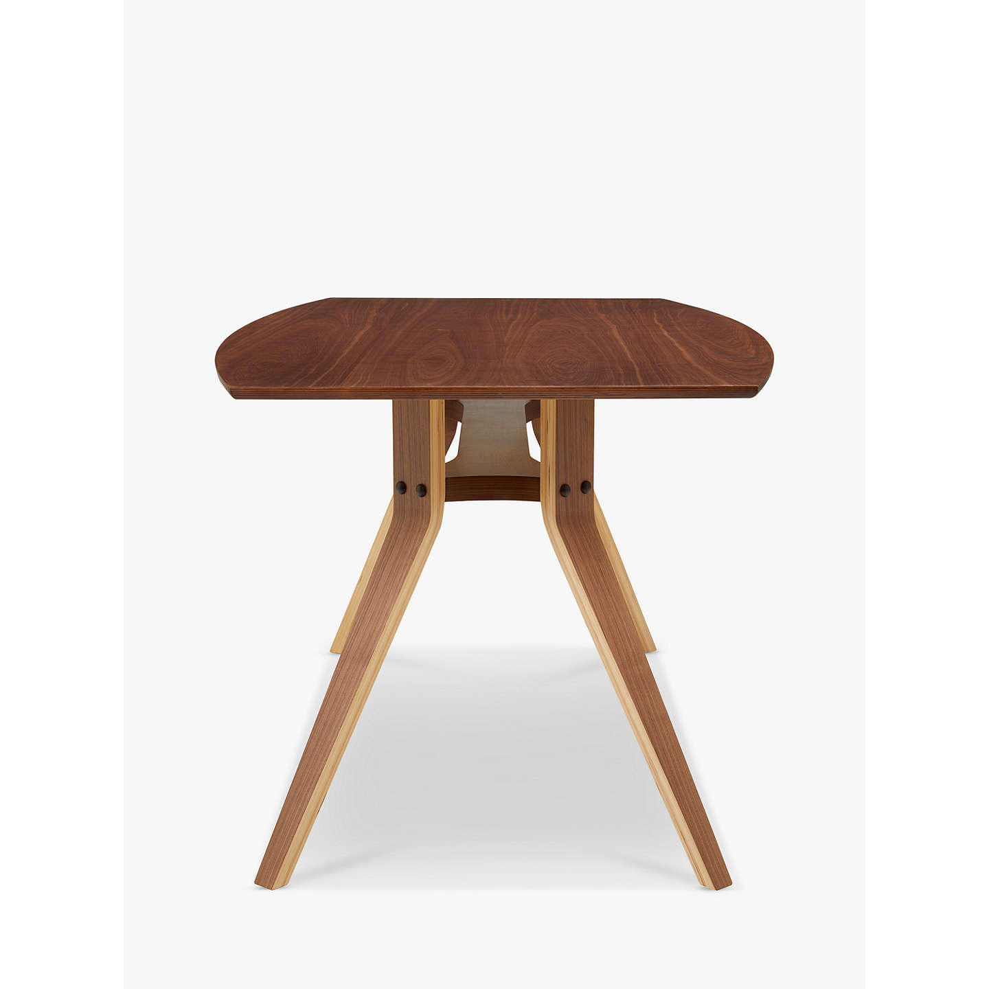 BuyJohn Lewis Radar 8 Seater Dining Table, Walnut Online at johnlewis.com