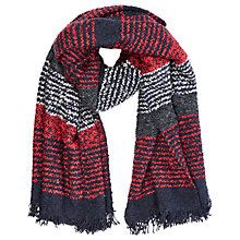 Buy Oasis Boucle Textured Scarf, Multi Online at johnlewis.com