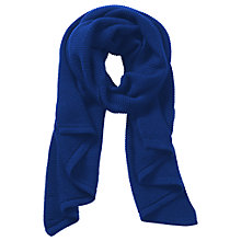 Buy Betty Barclay Adria Long Knitted Scarf, Utility Blue Online at johnlewis.com