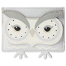 Buy kate spade new york Star Bright Owl Leather Card Holder, Multi Online at johnlewis.com