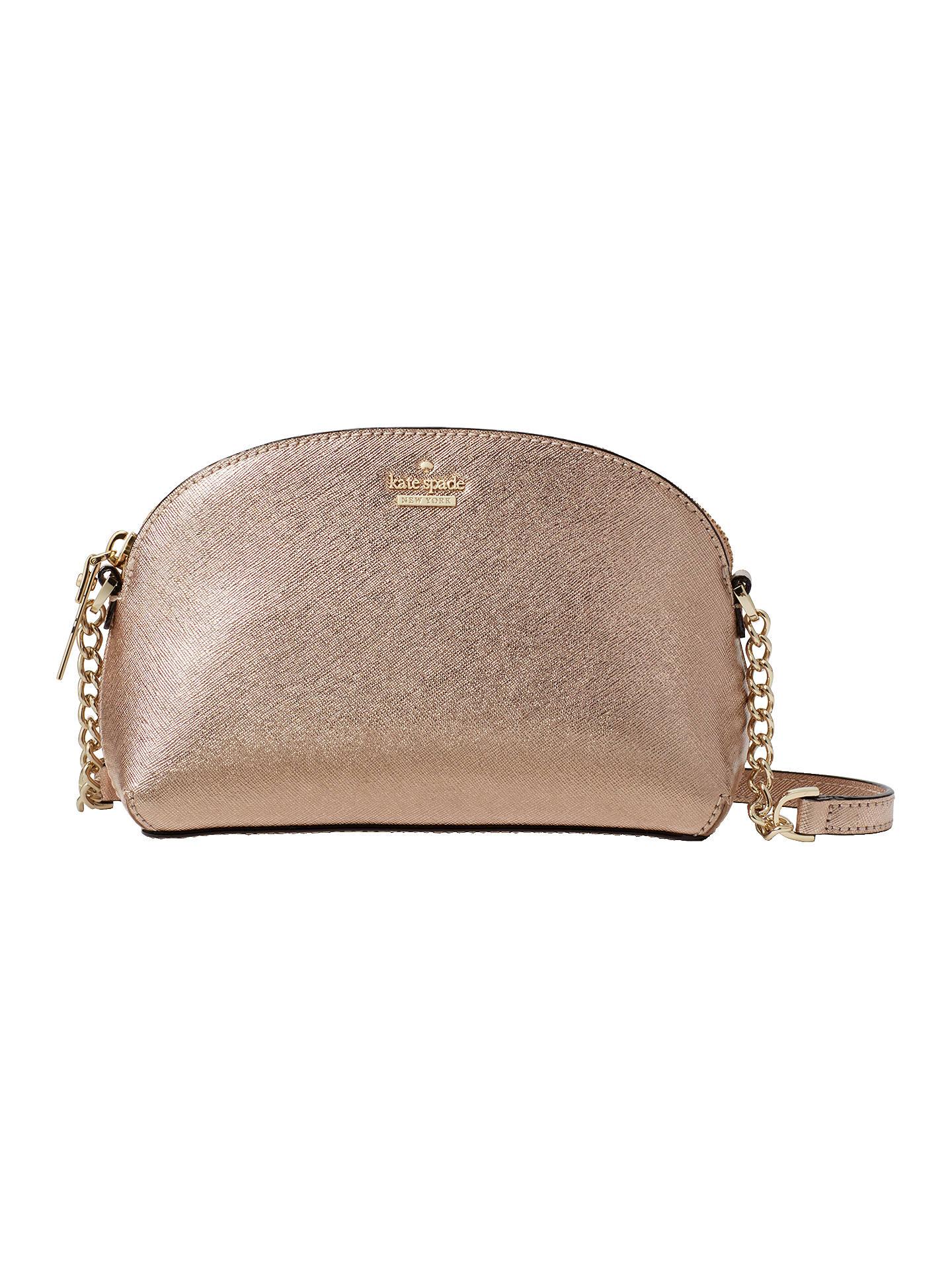 e90e79aba Buy kate spade new york Cameron Street Hilli Cross Body Bag, Rose Gold  Online at ...