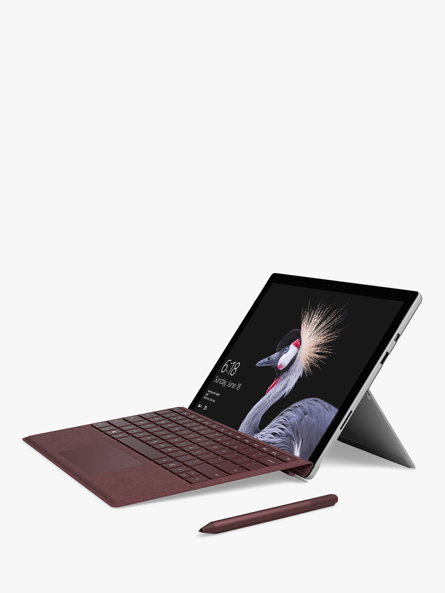 BuyMicrosoft Surface Pro Pen, Burgundy Online at johnlewis.com