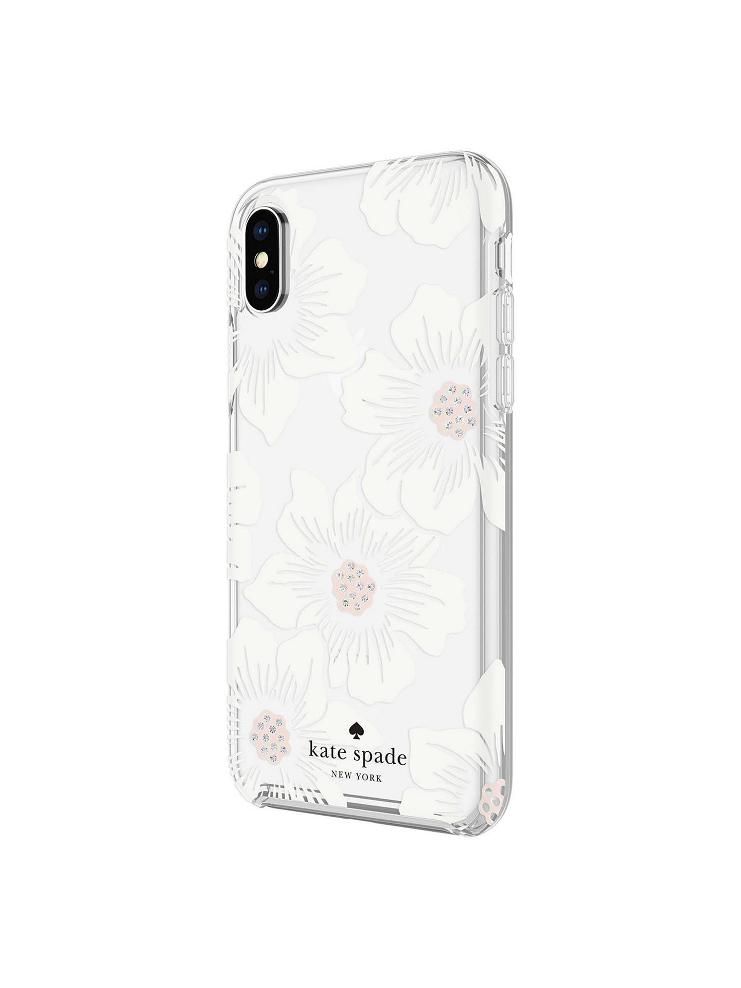 Buy kate spade new york Floral Hard Case for iPhone X Online at johnlewis.com