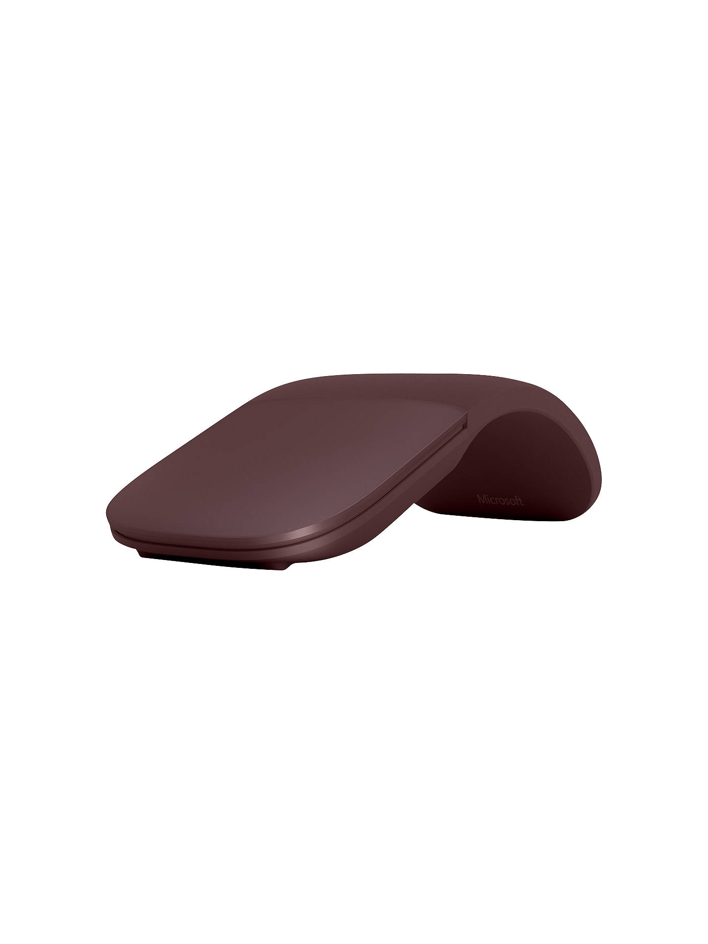 d31699cc0dd Buy Microsoft Surface Arc Bluetooth Wireless Mouse, Burgundy Online at  johnlewis.com ...
