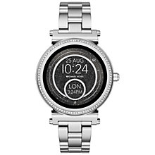 Buy Michael Kors Access Women's Sofie Bracelet Strap Touchscreen Smartwatch Online at johnlewis.com