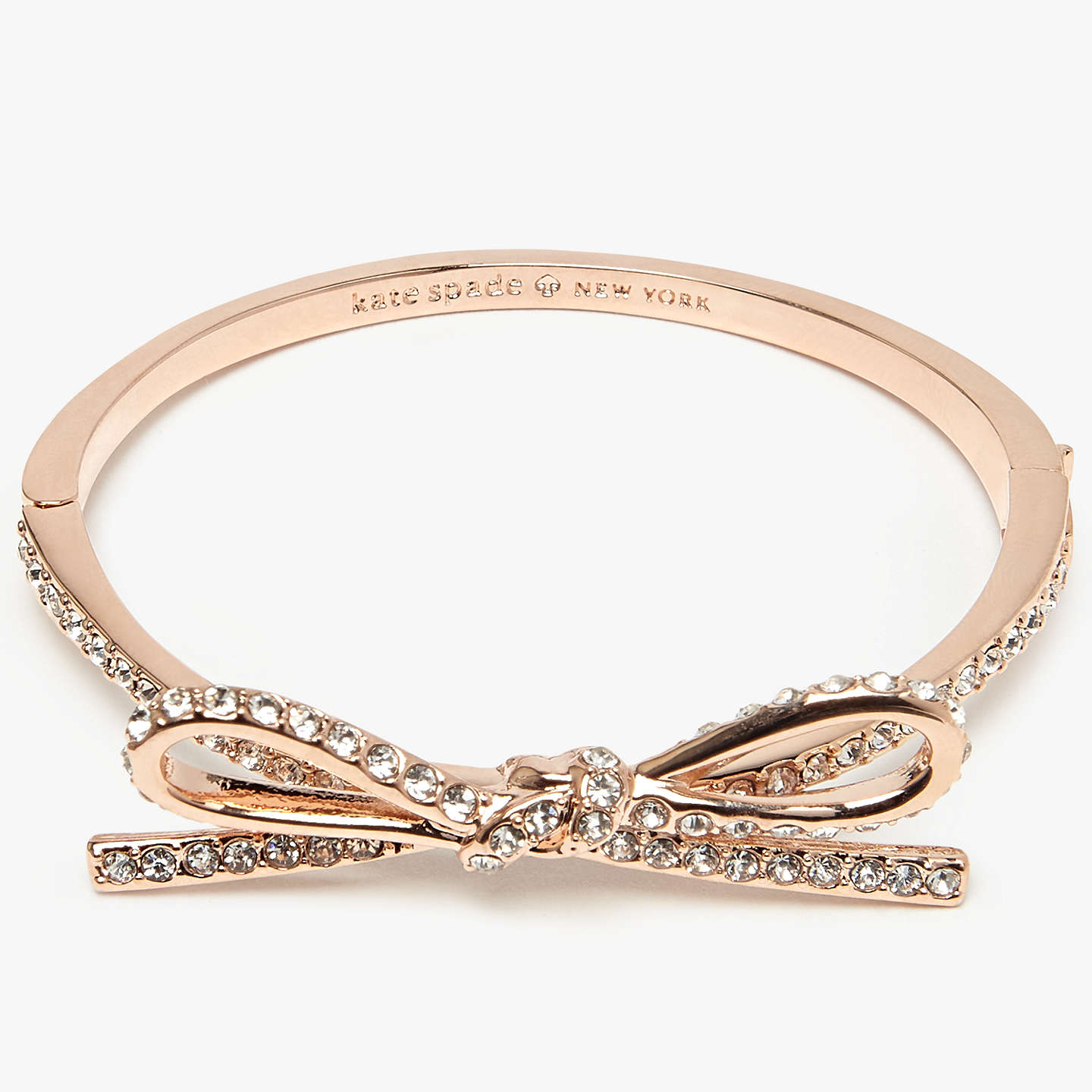 type rose new john bangle pdp rsp bracelet lewis johnlewis at buykate online pave bangles york com main kate gold bow spade