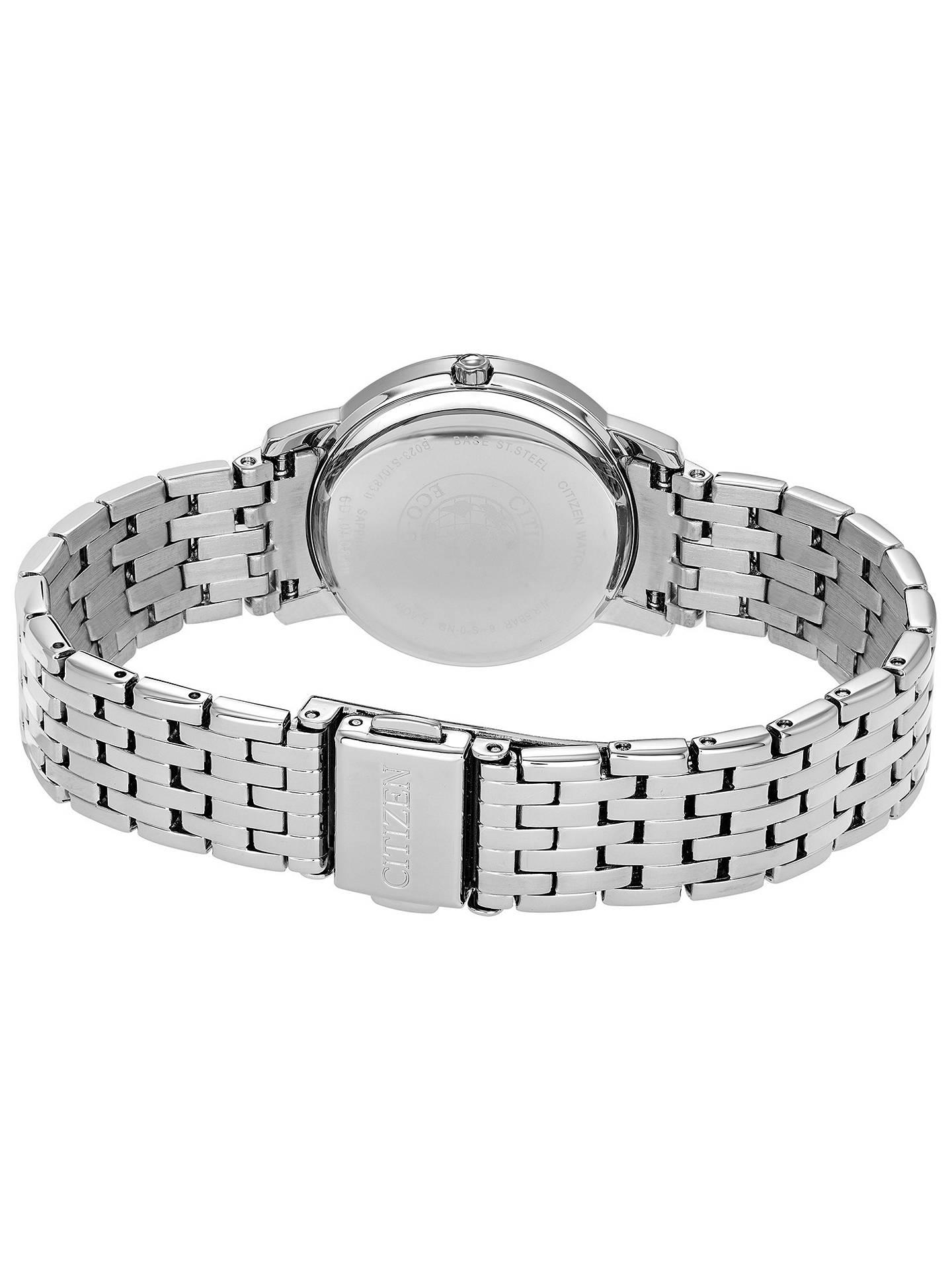 90fc3cdf63640 Citizen Women's Silhouette Swarovski Crystal Eco-Drive Bracelet ...