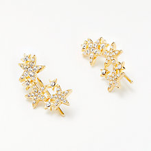 Buy kate spade new york Cubic Zirconia Pave Star Drop Earrings, Rose Gold Online at johnlewis.com