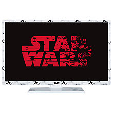 "Buy Toshiba 24SW763DB LED HD Ready 720p Smart TV, 24"" with Built-In Wi-Fi, Freeview HD & Freeview Play, Star Wars Episode VIII The Last Jedi Design Online at johnlewis.com"