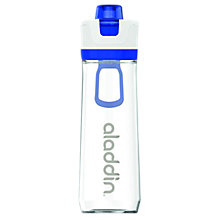 Buy Aladdin Active Hydration Tracker Water Bottle, 800ml, Blue Online at johnlewis.com