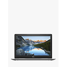 "Buy Dell Inspiron 15 5570 Laptop, Intel Core i7, 16GB RAM, AMD Radeon 530, 2TB HDD, 256GB SSD, 15.6"", Full HD, Silver Online at johnlewis.com"