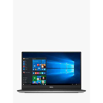 "Image of Dell XPS 13 9360 Laptop, Intel Core i7, 8GB RAM, 256GB SSD, 13.3"", Full HD, Silver"