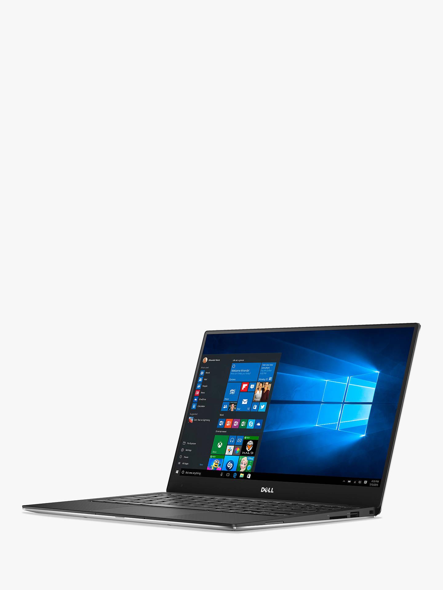 "Dell XPS 13 9360 Laptop, Intel Core i7, 8GB RAM, 256GB SSD, 13 3"", Full HD,  Silver"