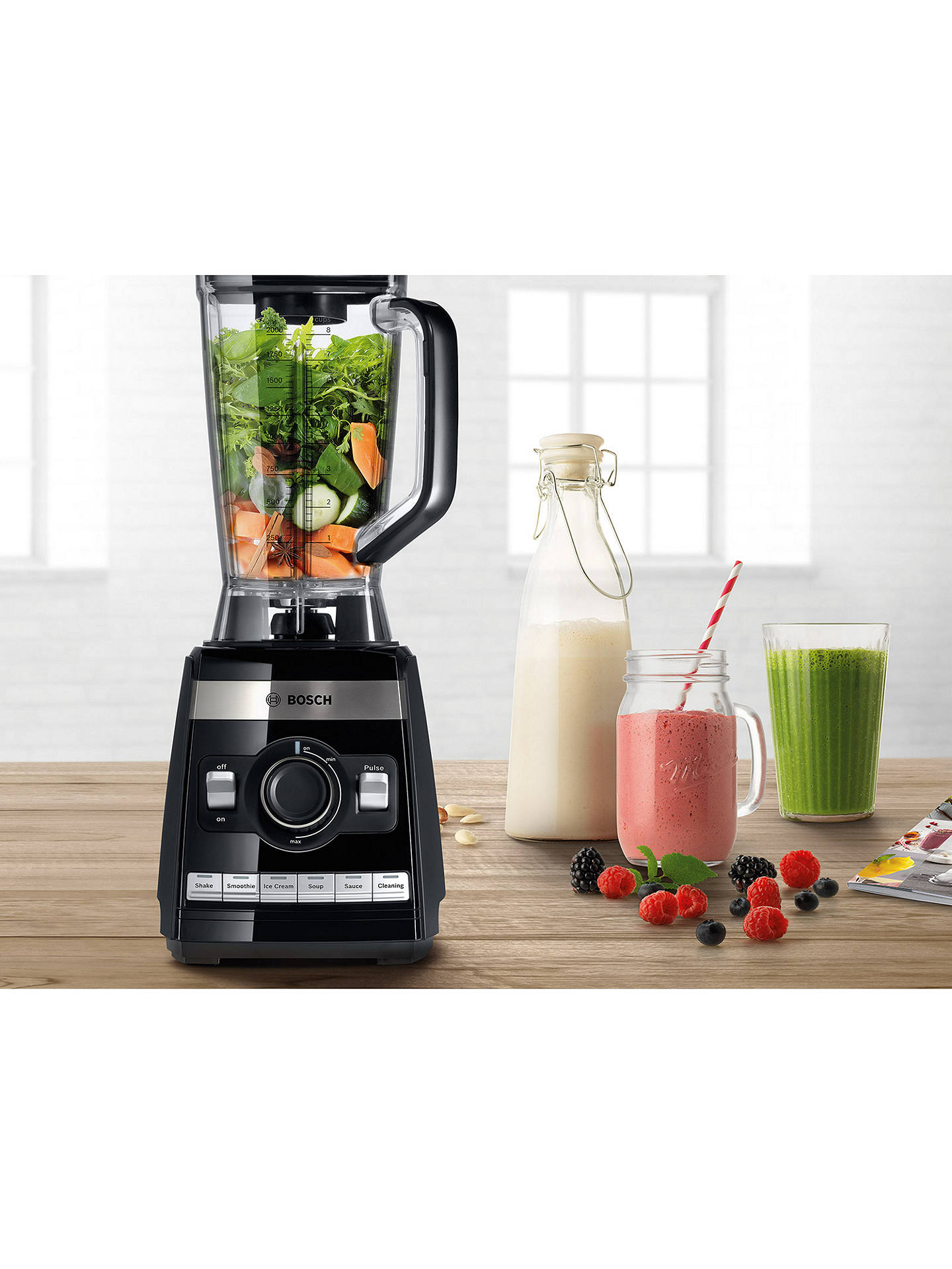 BuyBosch MMBH6P6BGB VitaBoost High-Performance Blender, Black Online at johnlewis.com