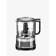 Buy KitchenAid Mini Food Processor, Silver Online at johnlewis.com