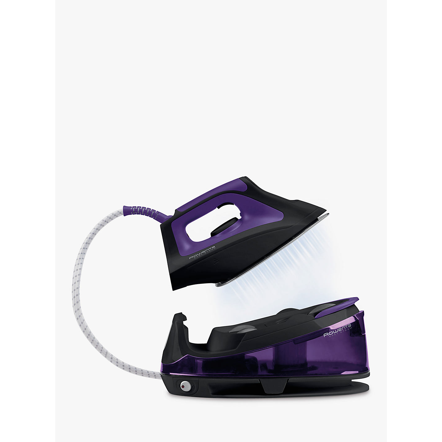 Buy Rowenta VR7045 Easy Steam Generator Iron Black Purple