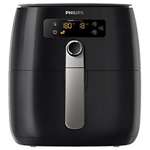 Buy Philips HD9643/11 Advance Collection Airfryer, Black Online at johnlewis.com