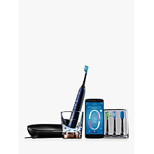 Buy Philips HX9954/53 DiamondClean Smart Sonic Electric Toothbrush with App, Blue Online at johnlewis.com