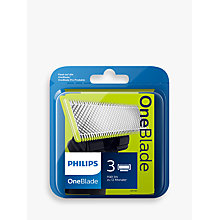 Buy Philips QP230/50 OneBlade Replacement Blades, Pack of 3 Online at johnlewis.com