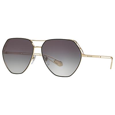 BVLGARI BV6098 Women's Aviator Sunglasses
