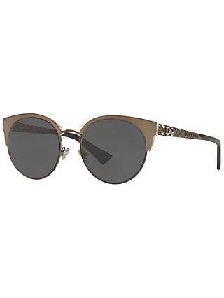 Dior DioramaMini Cat's Eye Sunglasses, Brown/Black