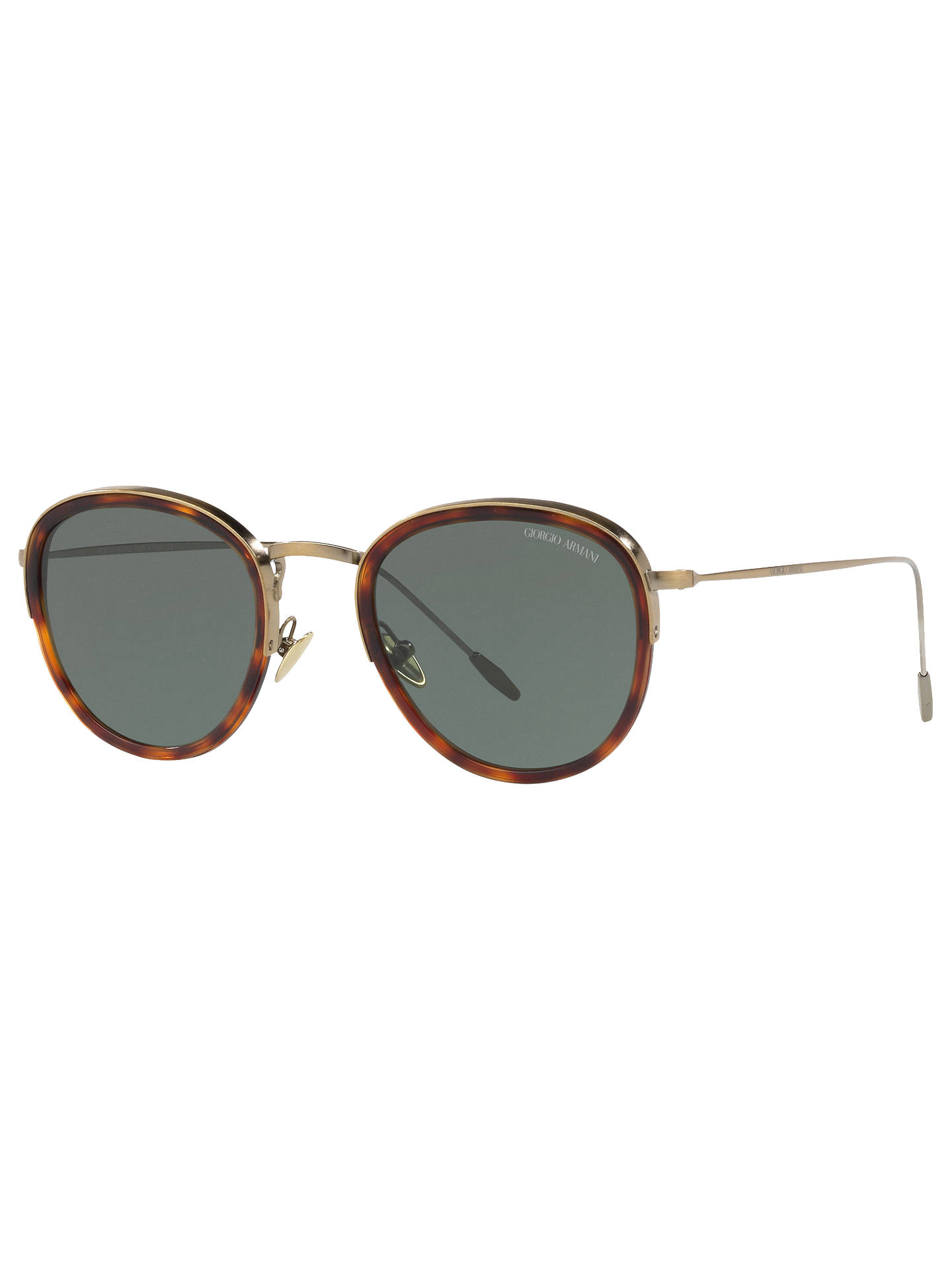 68b9255ad9f9 Giorgio Armani AR6068 Men s Frames of Life Round Sunglasses at John ...