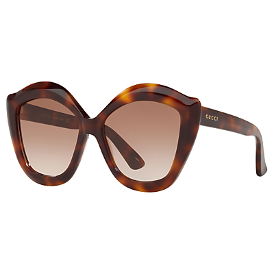 Gucci GG0117S Cat's Eye Sunglasses