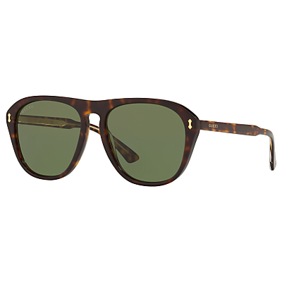 Product photo of Gucci gg0128s polarised rectangular sunglasses