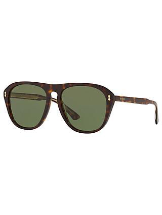 bbc2844c0d Gucci GG0128S Polarised Rectangular Sunglasses