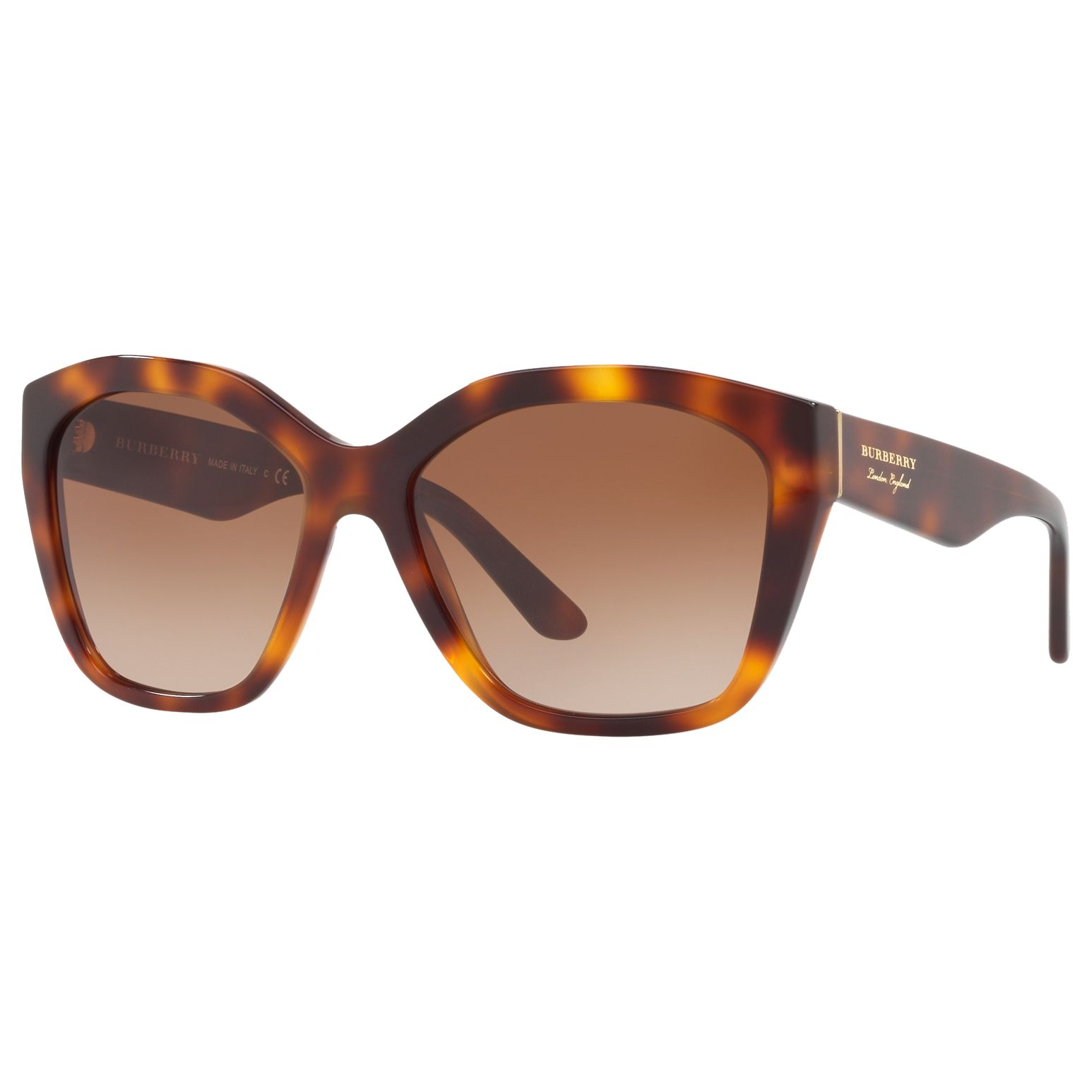 Burberry Burberry BE4261 Square Sunglasses, Tortoise/Brown Gradient