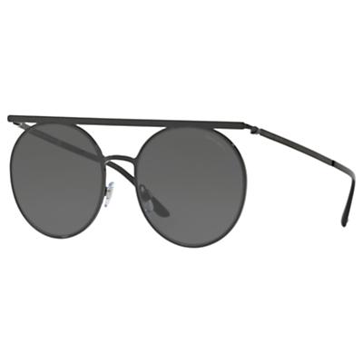 Giorgio Armani AR6069 Round Sunglasses, Black