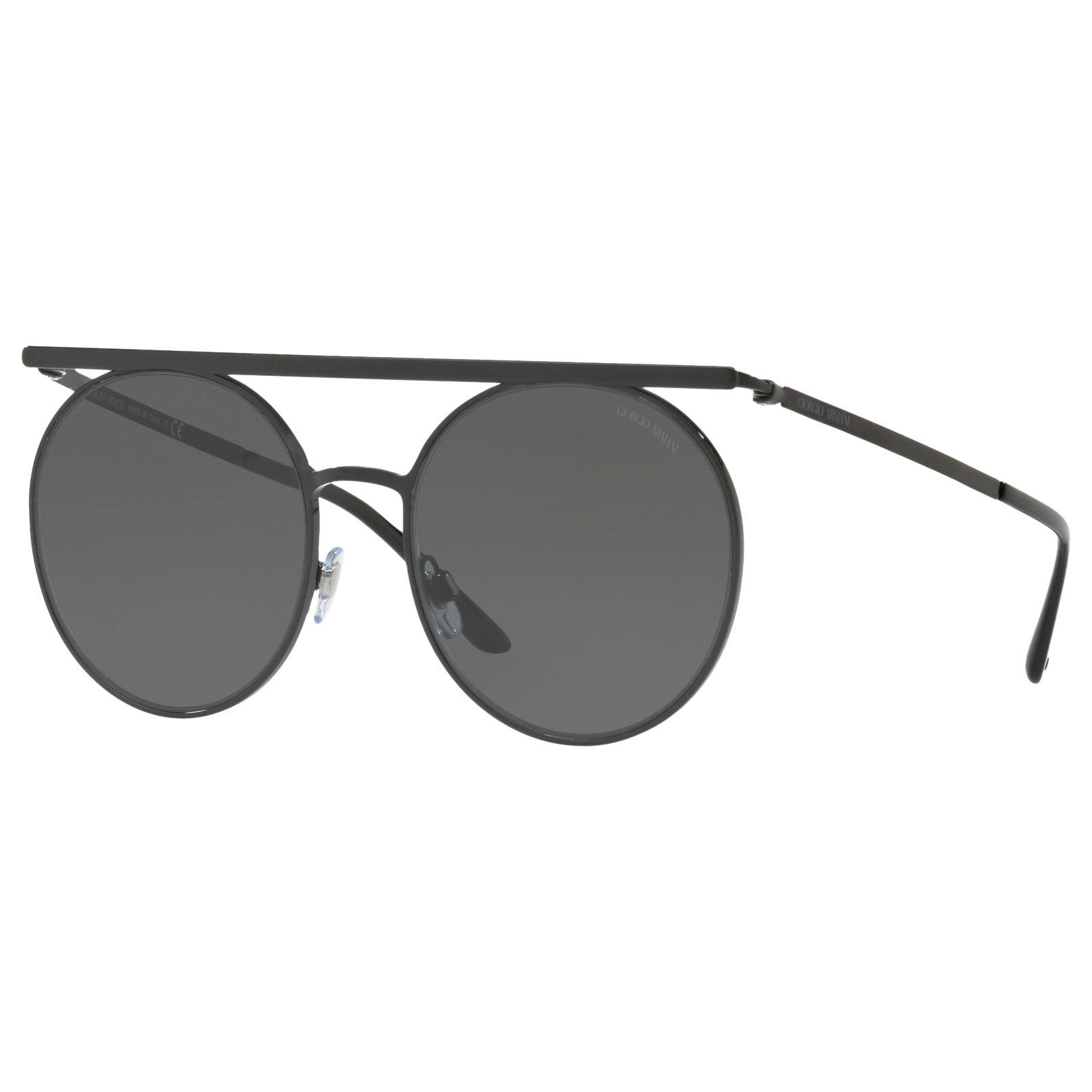 Giorgio Armani Giorgio Armani AR6069 Round Sunglasses, Black
