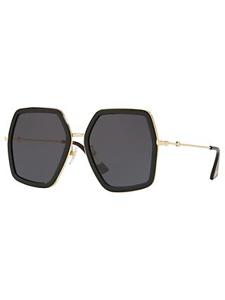 Gucci GG0106S Outsize Square Sunglasses