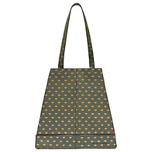 Buy Ted Baker Colour By Numbers Marab Bee Printed Shopper Bag, Khaki Online at johnlewis.com