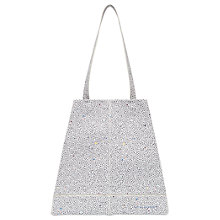 Buy Ted Baker Colour By Numbers Toryia Spot Printed Shopper Bag, Ivory Online at johnlewis.com