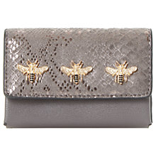 Buy Dune Kimbug Bug Trim Purse, Grey Online at johnlewis.com