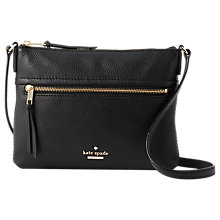 Buy kate spade new york Jackson Street Gabriele Leather Cross Body Bag Online at johnlewis.com