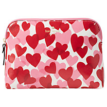 Buy kate spade new york Yours Truly Cosmetic Bag, Heart Party Online at johnlewis.com