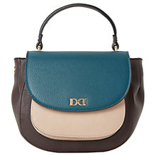 Buy Dune Daschelle Cross Body Bag, Teal Online at johnlewis.com