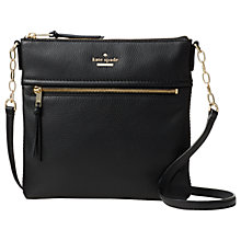 Buy kate spade new york Jackson Street Melisse Cross Body Bag, Black Online at johnlewis.com