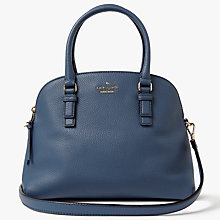 Buy kate spade new york Jackson Street Lottie Leather Cross Body Bag, Denim Holiday Online at johnlewis.com