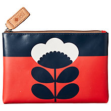 Buy Orla Kiely Spring Flower Pouch Purse Online at johnlewis.com