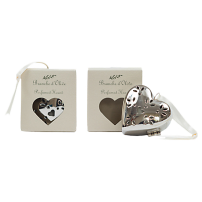 Branche d'Olive Cloud Perfumed Heart, Silver