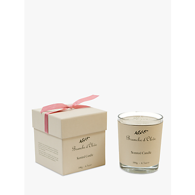 Branche d'Olive Rose Scented Candle