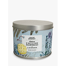 Buy Artisan Biscuits Lavender English Shortbread Gift Tin, 190g Online at johnlewis.com