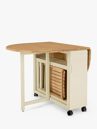 Anyday John Lewis Partners Adler, Fold Up Round Table