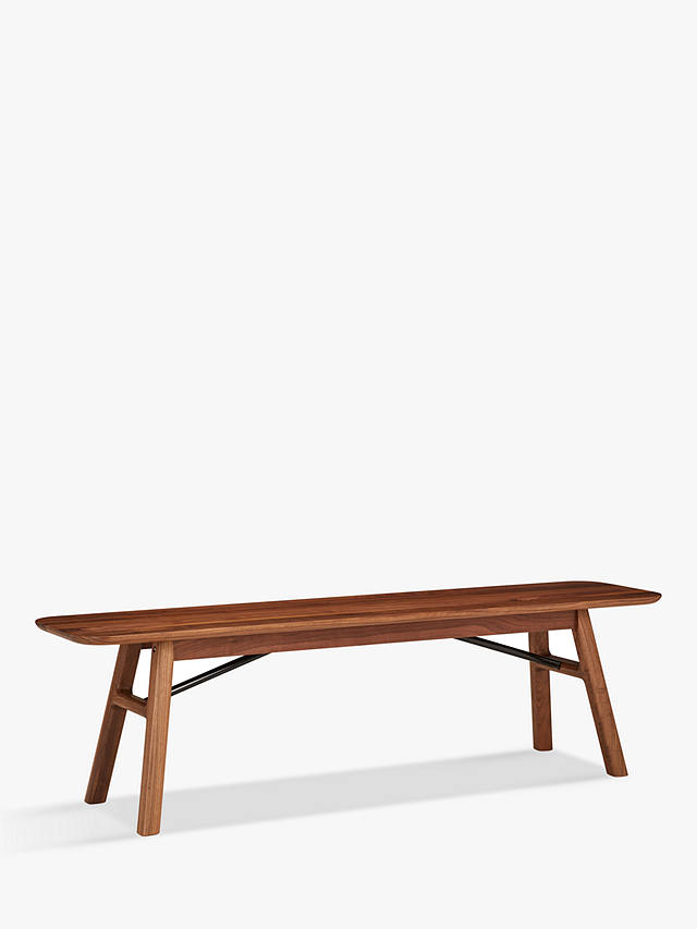 Buy Design Project by John Lewis No.036 Dining Bench, Walnut Online at johnlewis.com
