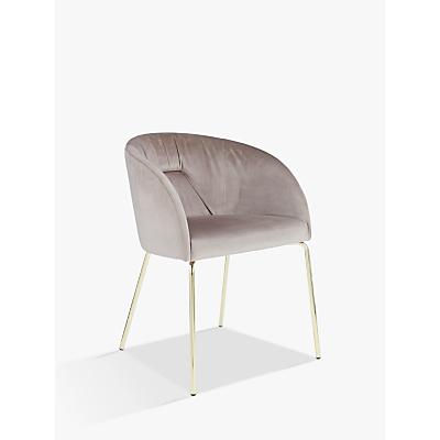 John Lewis Harper Velvet Chair