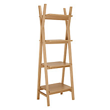 Buy House by John Lewis Anton Narrow Shelving Unit Online at johnlewis.com